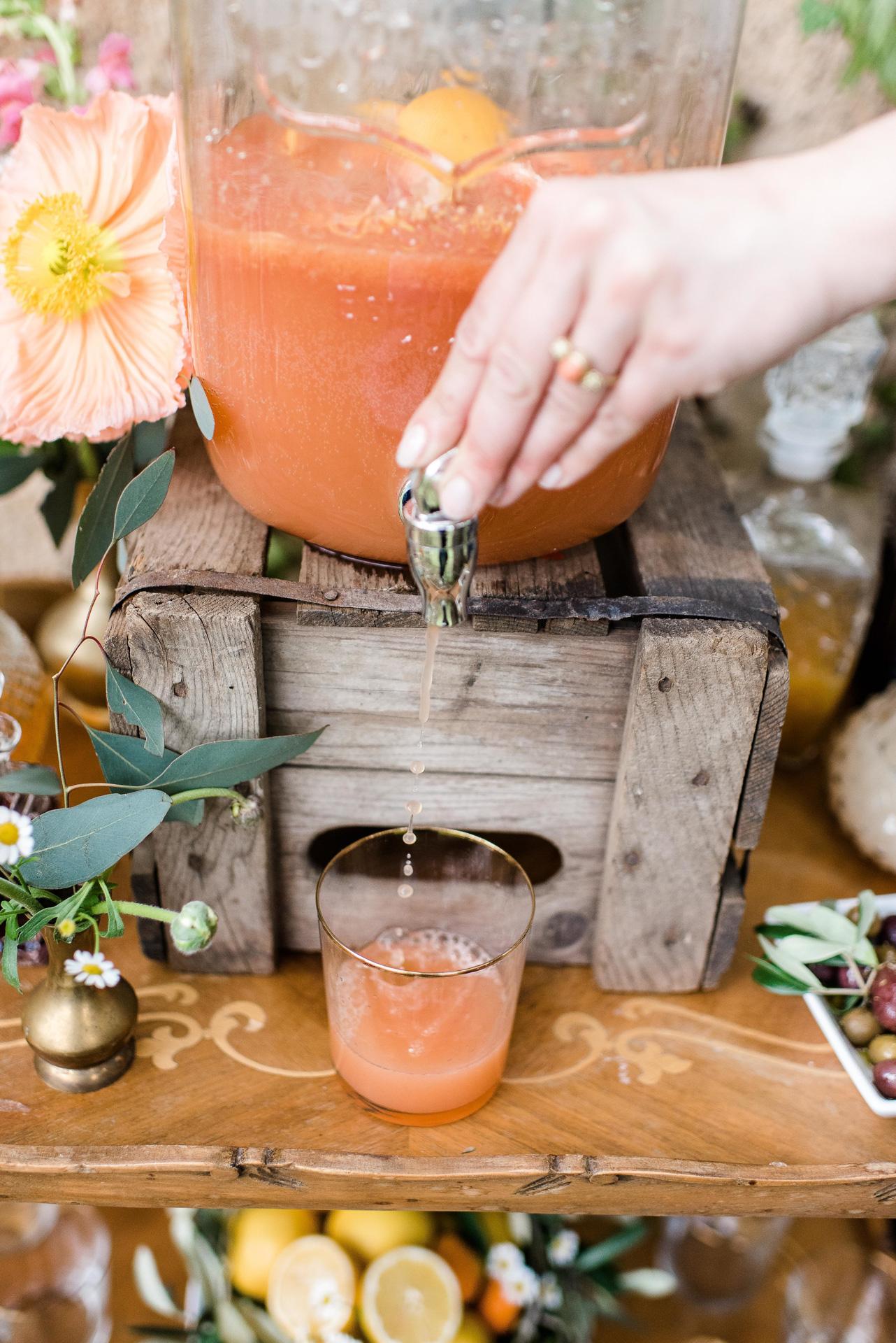 Hochzeit in Apricot und Living Coral Seelensachen Florietta